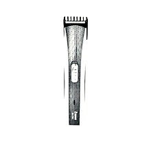 Rechargeable Hair And Beard Trimmer - White and Grey