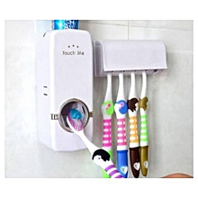 Automatic Toothpaste Dispenser - White