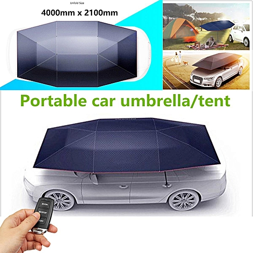 Generic Portable Fully Automatic Outdoor Car Tent Umbrella Roof