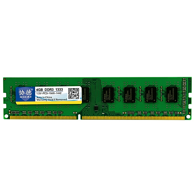 X037 DDR3 1333MHz 4GB General AMD Special Strip Memory RAM Module for  Desktop PC