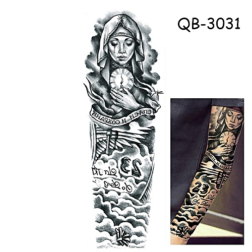 Buy Generic Full Arm Tattoo Waterproof Tattoo Sticker With Full Arm