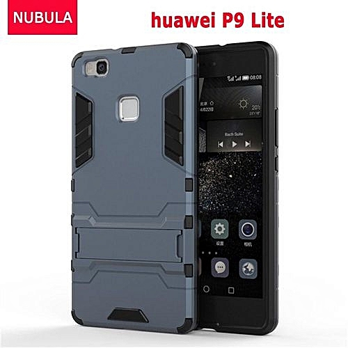 uk availability ac7f2 6d773 360 Degrees Ultra-thin Hard Back Cover For Huawei P9 Lite / G9 Detachable 2  In 1 Hybrid Armor Shell Case Dual-Layer Full Protective Shockproof Case ...