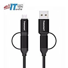 Tronsmart 4-in-1 Type C/Micro cable (c4n1) [FS0A] QTG-W