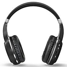 Bluetooth 4.1 Wireless Stereo Headphones Headset Over-Ear Headband For Laptop Black