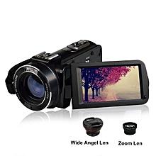 "Ordro HDV-Z20 WIFI 1080P Full HD Digital Video Camera Camcorder 24MP 16X Zoom Recoding 3.0"" LCD Screen remote control KANWORLD"