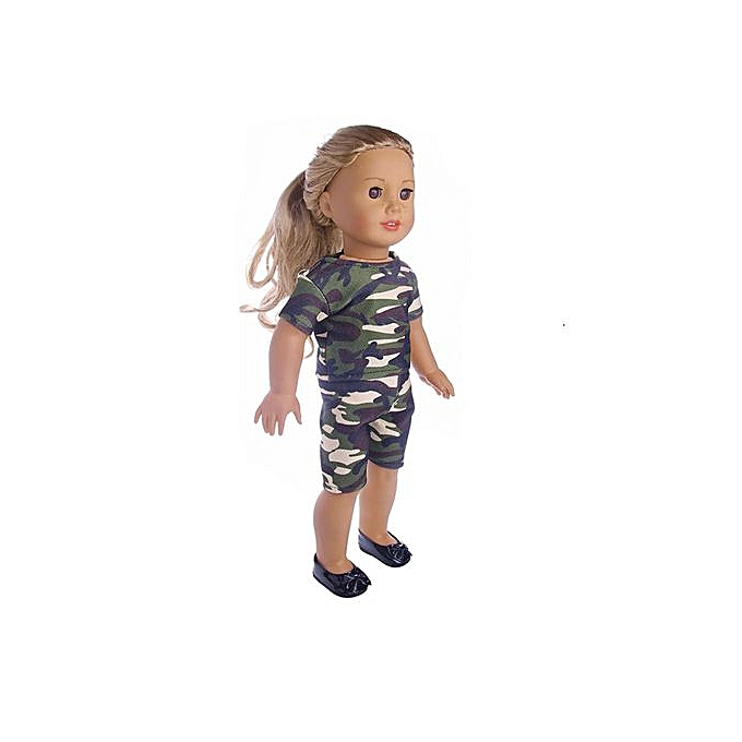 df3db156f Fashion Braveayong Doll Clothes Dress Accessories For 18 Inch Our ...