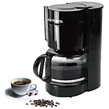 Coffee Maker Machine 1.25L, 800W - Black