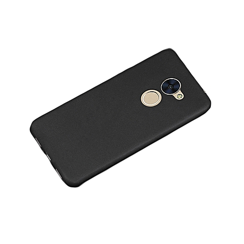 Huawei Y7 Prime Back Cover - Silicone Rubber Finish Black