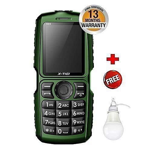 S22 10000mAh Universal   - Black & Green plus USB Light