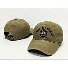 NASA I Need My Space Baseball Cap Adjustable Snapback Hat For Men Women - Green