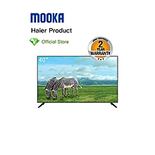Haier Mooka 40'' - FHD - Digital TV - Black. - black