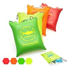 Honana WX-P8 Outdoor Travel Waterproof Inflatable Air Cushion Pad Pillow Beach Bag Storage Organizer