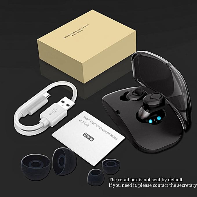 86367bbeeec Wireless earphones X18 TWS Bluetooth Earphone invisible Earpiece With Charging  Box Wireless Earbuds Headset Bluetooth Earphones