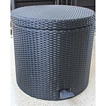 Laundry Bin (40x40x55cm) - Small - Black