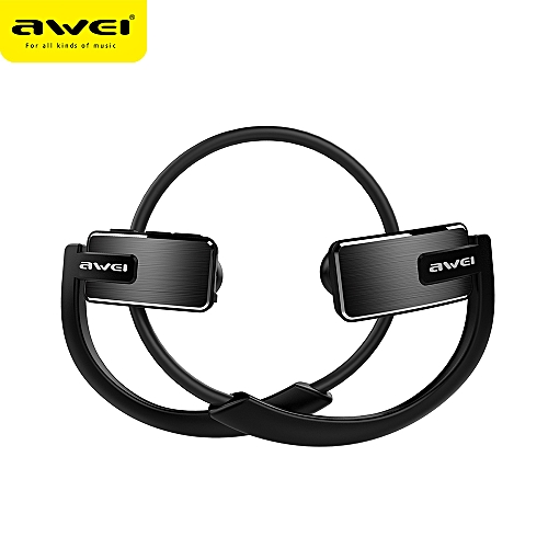 c0b93be9845 Awei AWEI A883BL Wireless Sport Earphones BT Headphones IPX4 Waterproof  Stereo Music Noise Canceling with Mic Neckband Earbuds for Running Workout
