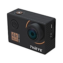 T5 Edge Native 4K WiFi Action Camera with Voice Commands Remote Control-BLACK