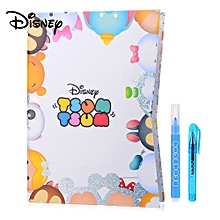 TSUM Cute Cartoon DIY Notepad Notebook Kit With Pen, Stickers Etc For Kids Children