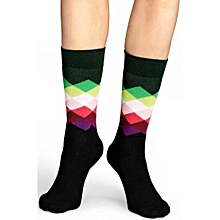 1 Pair Diamond Happy Socks