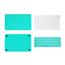 Laptop Sleeve Case Hard Cover Suitable For Macbook 12 Inch Notebook white blue