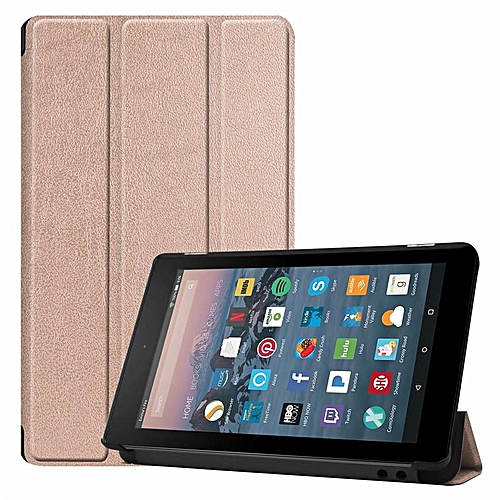 promo code b975b 64732 PU Leather Slim Case Cover For Amazon Kindle Fire 7 2017 / Kindle Fire 7  2019