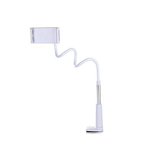 Flexible Desktop Phone Stand Holder Lazy Bed Tablet Rack For IPad Tablet - Silver & Grey (110cm)