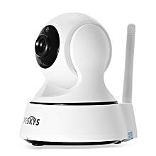 VESKYS 720P 1.0MP WiFi Network IP Camera 75 Degree FOV Night Vision IR-cut-WHITE