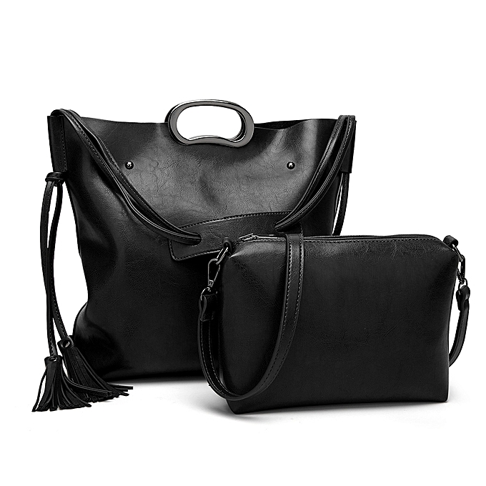 2865810f639f ... Black Tote Bags PU Leather Shoulder Bag for Ladies latest design f1c09  587b6  PU Leather Women ...