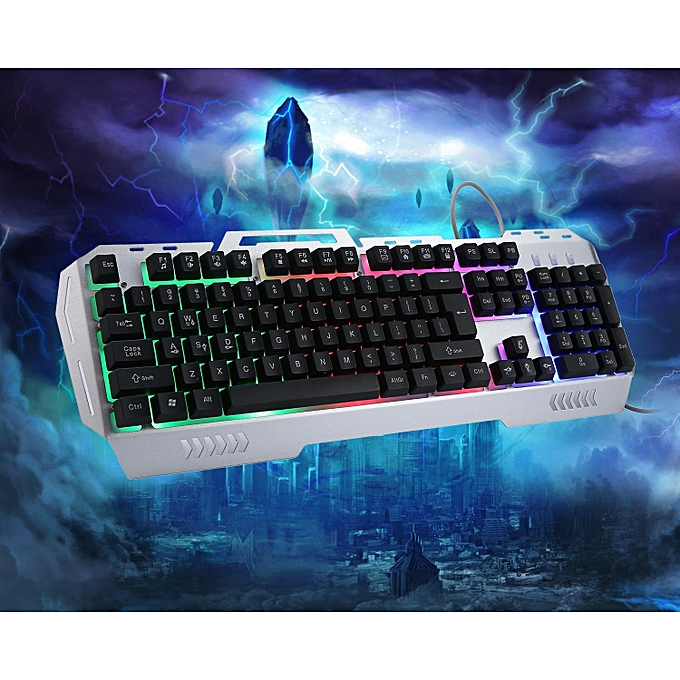 Buy Louis will K3 USB Wired Optical Gaming Keyboard And Mouse Set ...