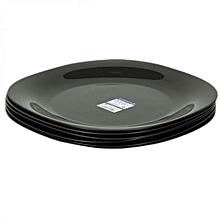 Dinner Plates - 12 Pieces - Black .