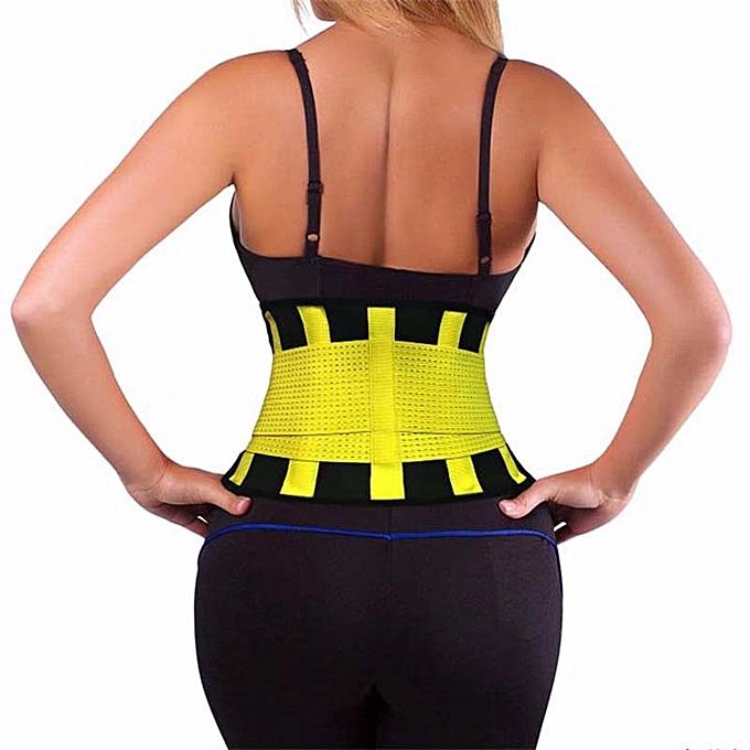 Hot Waist Trainer Waist Support Belt Faja Lumbar Waist Support Brace Belt  Sweat Belt Women Shapewear Corset Plus Size S-3XL