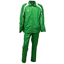T/Suit Woven Micro Green/White- Ek12dkgreen/White- 3xl