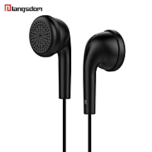 For iPhone 3.5mm Piston In-Ear Stereo Earbuds Earphone Headset -Black
