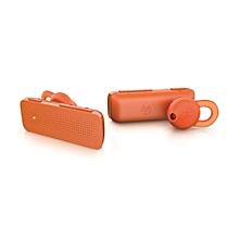 Handsfree Wireless Bluetooth Headset - Orange