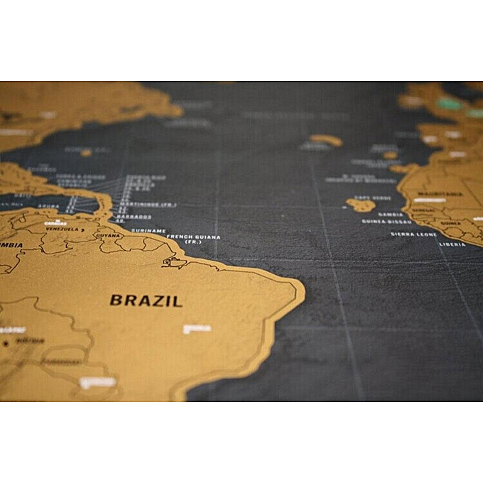 Buy louis will novelty world map educational scratch off map poster buy louis will novelty world map educational scratch off map poster travel map wall map best price online jumia kenya gumiabroncs Gallery
