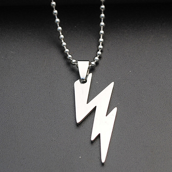 Buy fashion cool super hero the flash necklace lightning logo cool super hero the flash necklace lightning logo stainless steel chain pendants men womens jewelry aloadofball Image collections