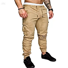 Brown Men's Cargo Pant-Stylish Pocketed