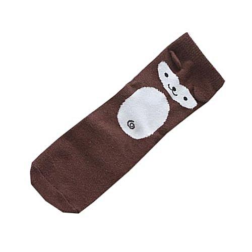 b1ae01c3063 Eissely Toddlers Kids Baby Animal Pattern Knee High Socks Cute Cartoon Socks  CO M