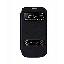 Galaxy J1 Ace – Double Window Cover – Black