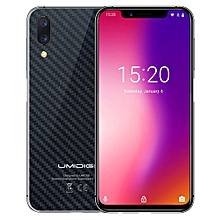 UMIDIGI One, 4GB+32GB, Global Band Dual 4G, Dual Back Cameras, Face ID & Side Fingerprint Identification,  5.9 inch Android 8.1 MTK Helio P23 Octa Core up to 2.0GHz, Network: 4G, VoLTE, Dual SIM (Carbon Fiber Black)