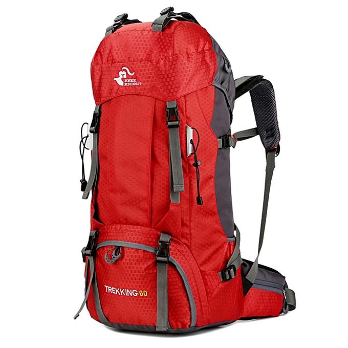2468b47579 Free Knight 60L Hiking Backpack Mountaineering Camping Trekking Travel Bag  Large Capacity Internal Frame Water Resistant