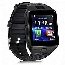 Generic Smart Gear DZ09 Smart Watch For Android and iPhone - Black