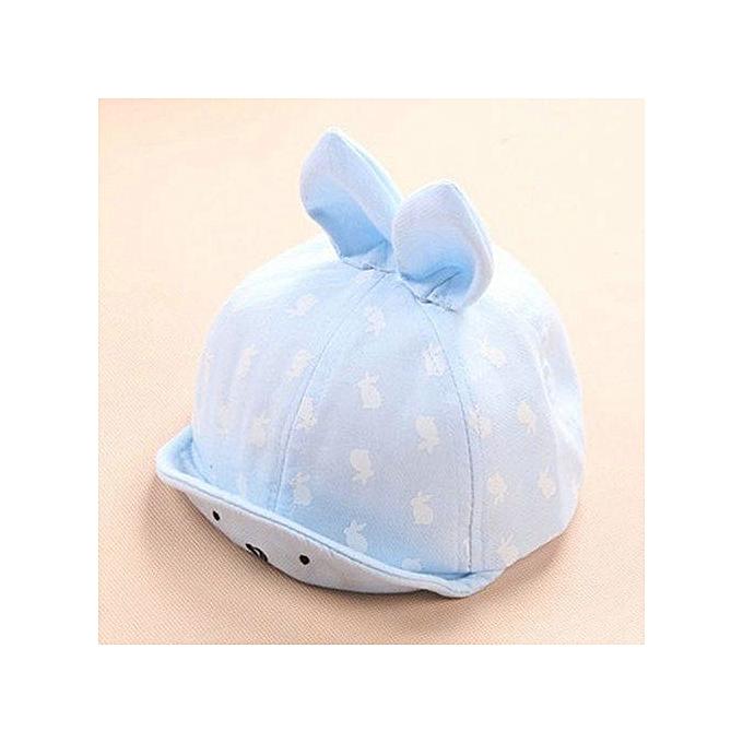 55be4a56ff1 Braveayong Baby Beanie Boys Girls Cotton Hat Children Rabbit Print Hats  Baseball Cap LB -Light