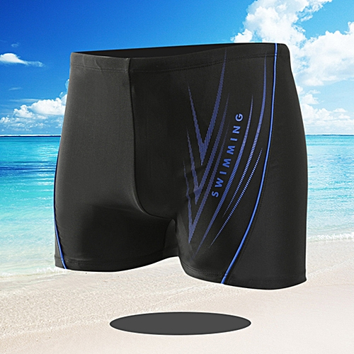 4a727d98ad Generic Men's Printing Sexy Nylon Breathable Built-In Beam Line Briefs Swimming  Trunks