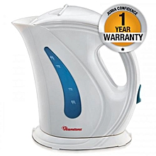 RM/225-Cordless Kettle 1.7Lts - White & Blue.