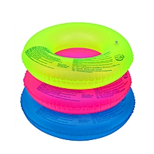 Summer Swimming Circle Inflatable Floats Swim Ring Water Sports -Random Color