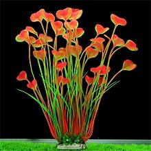 Fish Tank Plastic Decoration Aquarium Green Plants Water Grass Ornament Plant