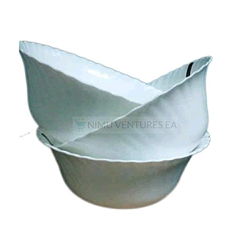 3 Opal Glass Ware Casserole Food Serving Dish Bowls - Set of 3
