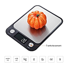 Kitchen Scale Electric Kitchen Scale Baking Scale High-precision Pocket Scale Food Scale with LCD Backlight Display