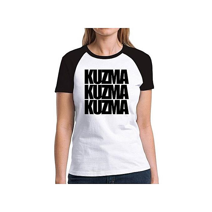 brand new ccc48 713d9 Kuzma Three Words Raglan Women T-Shirt