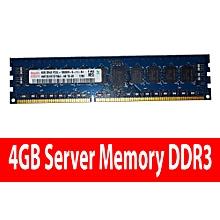 4GB Server Memory 2Rx8 PC3L-10600R DDR3-1333Mhz ECC Registered 1.35V 240-pin